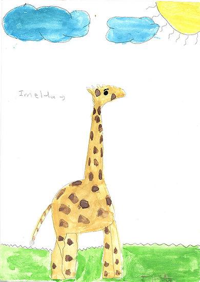 """giraffe"" - by Imelda - Namibia"
