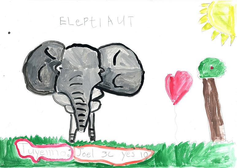 """elephant""- by Tuyemo - Namibia"