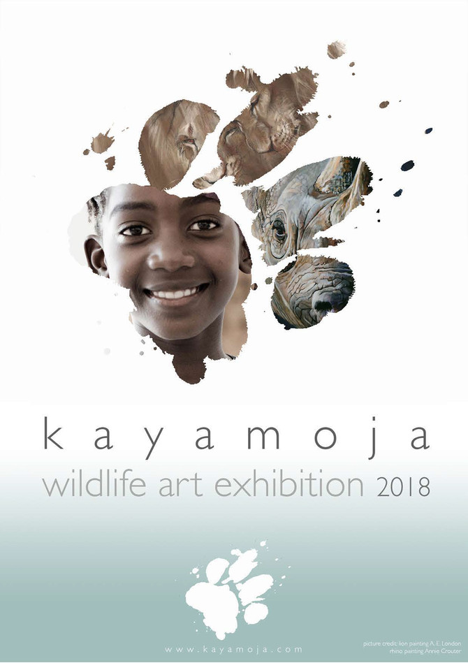 Kayamoja Wildlife Art Exhibition 2018 participating artists
