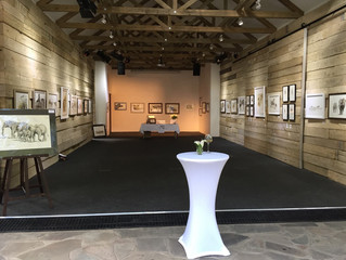 opening reception of 'Etosha's waterholes'