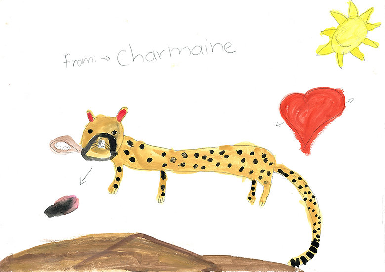 """cheetah"" - by Charmaine - Namibia"