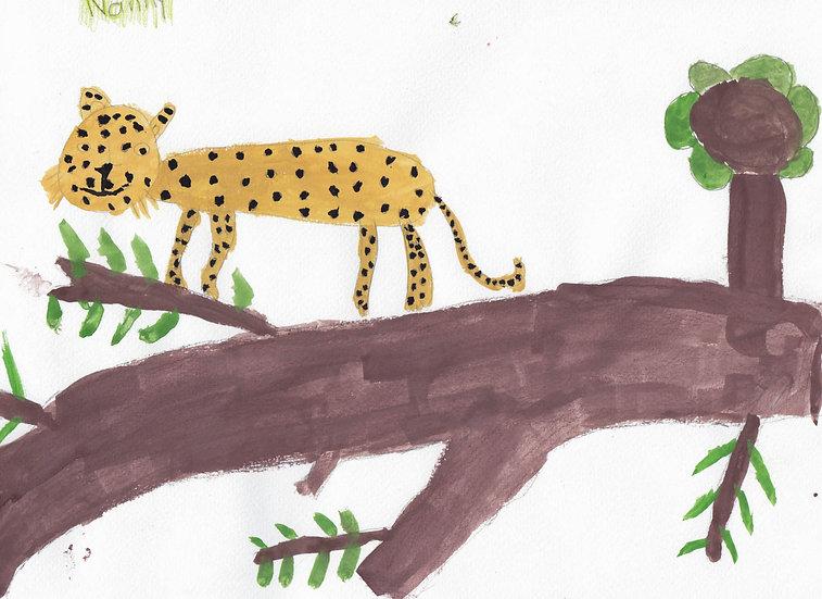 """leopard"" - by Nanny - Namibia"