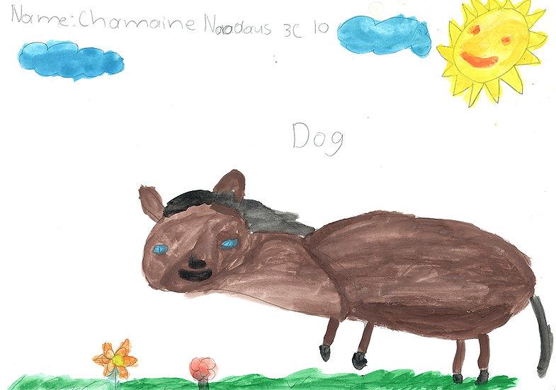 """dog"" - by Charmaine - Namibia"