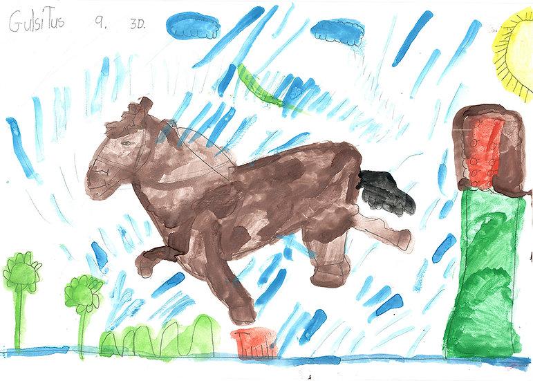 """horse"" - by Tuuli - Namibia"