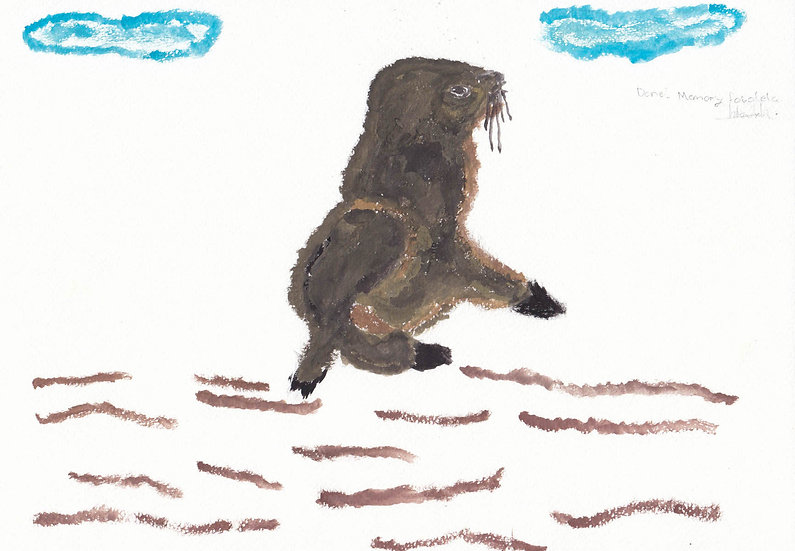 """""""cape fur seal"""" - by Memory - Namibia"""