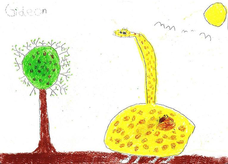 """giraffe"" - by Gideon - Namibia"