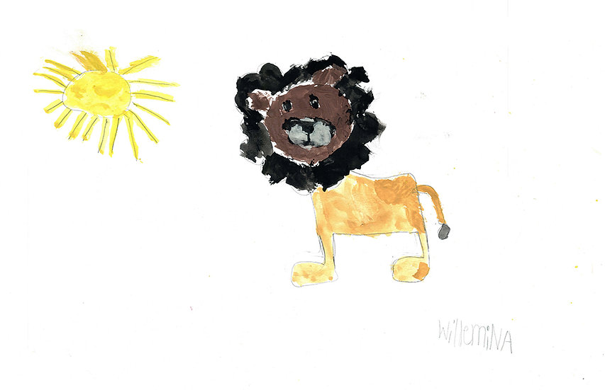 """""""lion"""" - by Willemina - Namibia"""