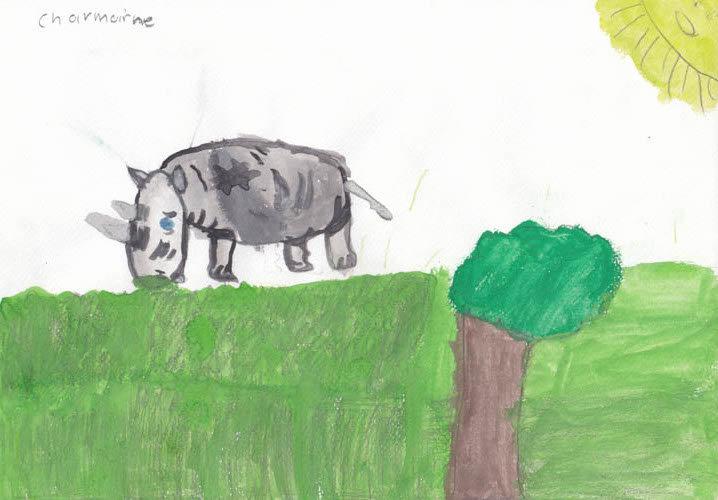 """""""Rhino"""" - by Charmaine - Namibia"""