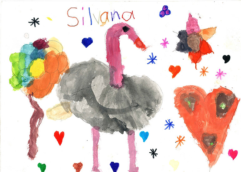 """""""ostrich"""" - by Silvana - Namibia"""