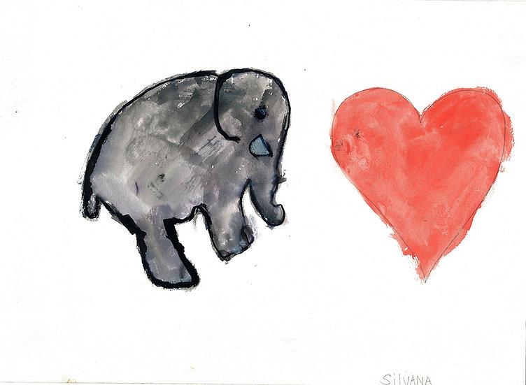 """elephant"" - by Silvana - Namibia"