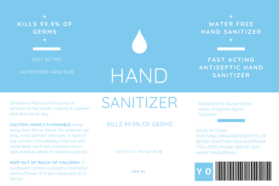 Seedball Hand Sanitizer