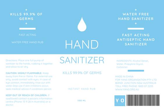 Seedball Hand Sanitizer