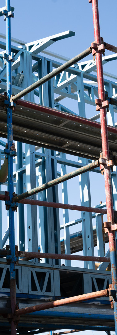 Scaffolding for house projects