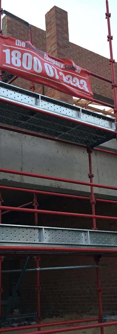 Scaffolding at Bankstown Sydney