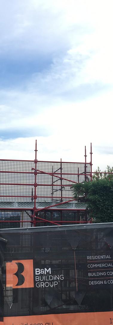 Scaffolding at Mosman for Big Builders