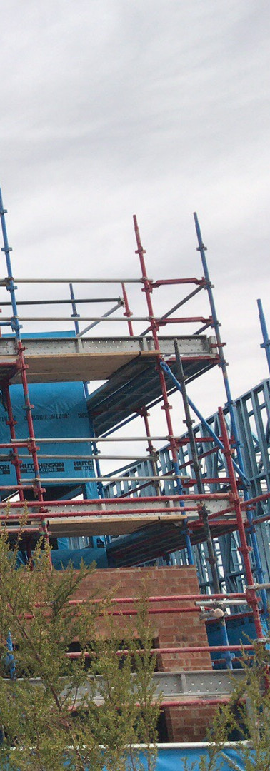 Scaffolding for commercial projects