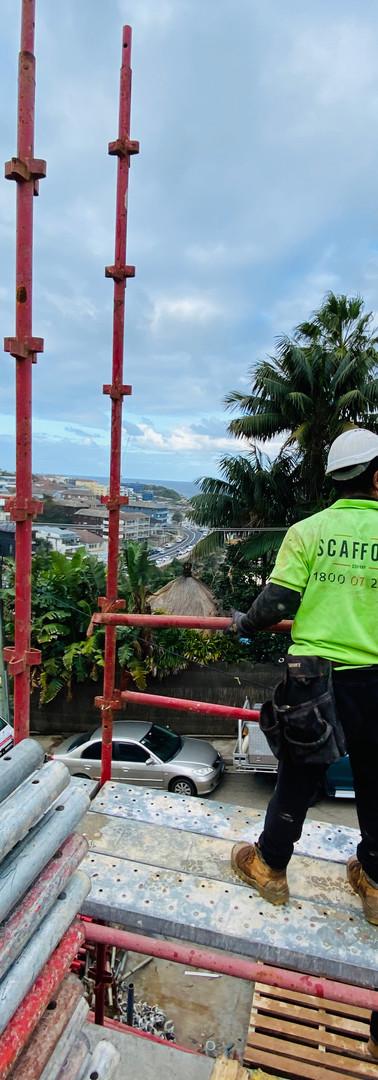 The scaffold company building scaffold in sydney