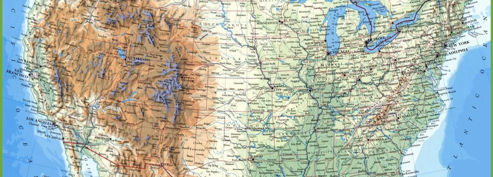 Utah Highway Map