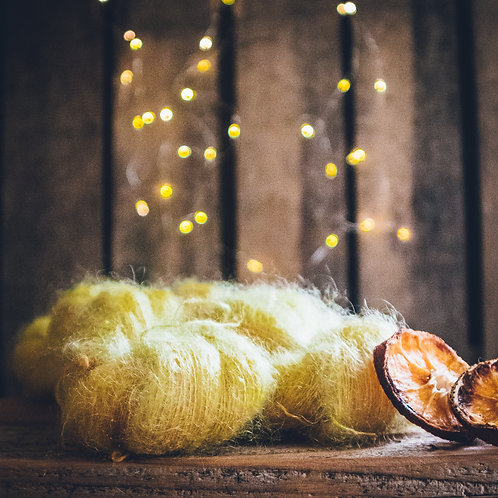 Silk Mohair Lemon