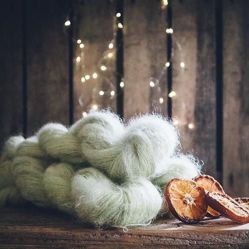 Silk Mohair Celery
