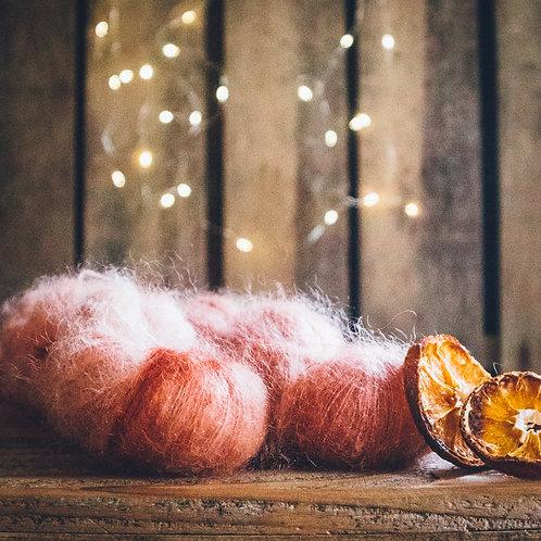 Silk Mohair Cinnabar