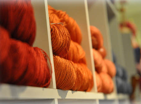 HOW TO KNIT WITH LINEN