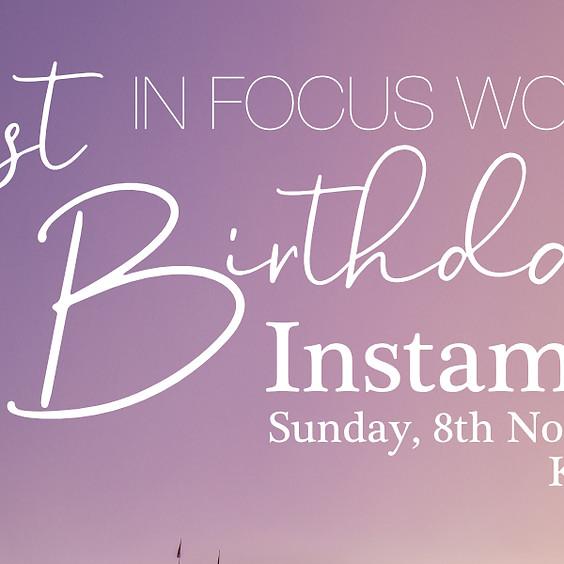 1st Birthday Instameet