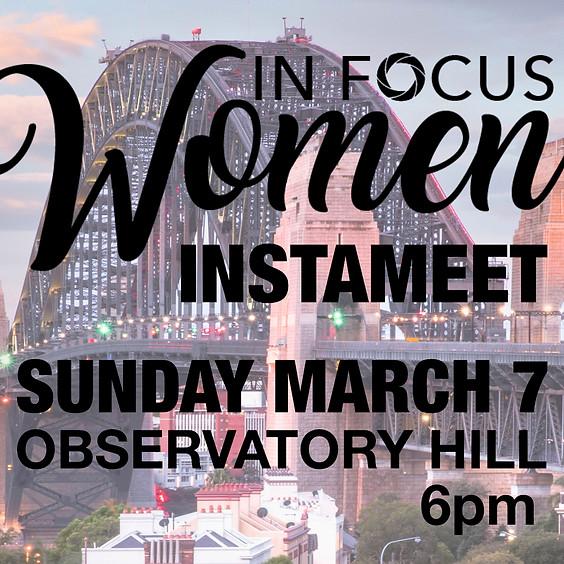 In Focus Women Instameet March 7