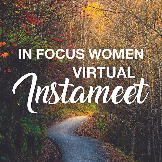 In Focus Women Virtual Instameet - July 15