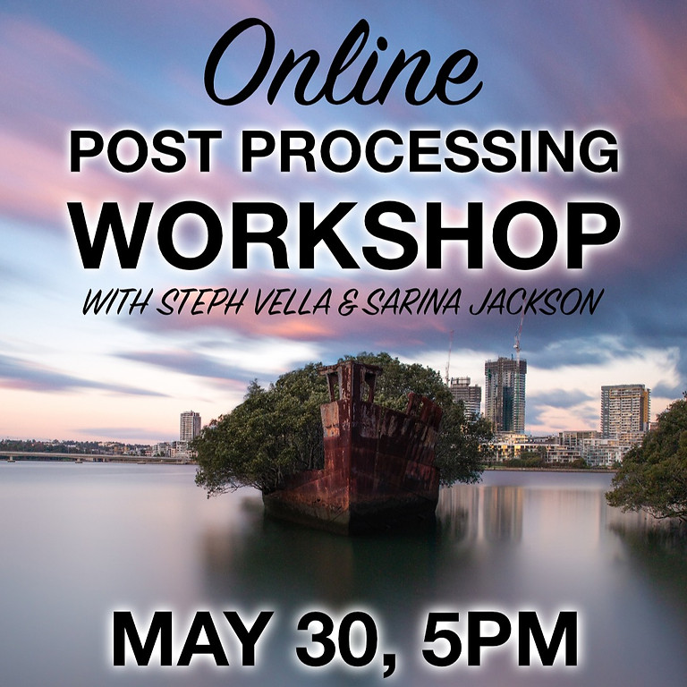 Online Post Processing Workshop - May 30