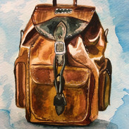 Backpack, 8x6, $80.00