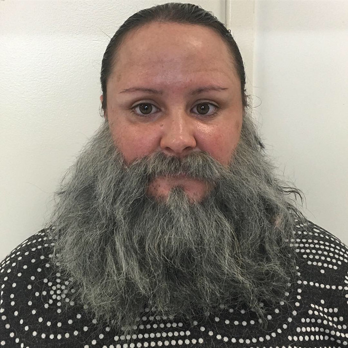 Makeup and facial hair by Charlotte Lee