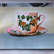 Teacup, 6x8, $60.00