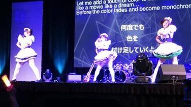 Anime Expo'17 #メイド #3人組 #大ステージ