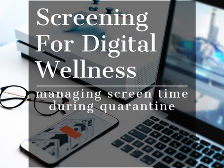 Screening for Digital Wellness