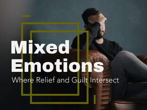 Mixed Emotions. Where Relief and Guilt Intersect