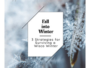 Fall into Winter: 3 Strategies for Surviving a Wisco Winter