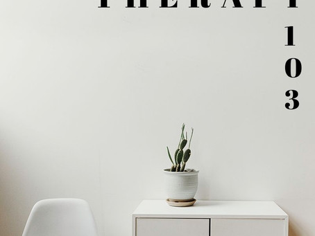Therapy 103 : Defining Counseling