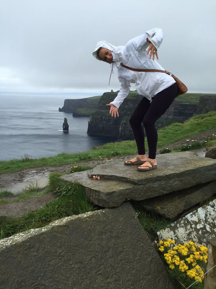 Jess in Ireland summer of 2017