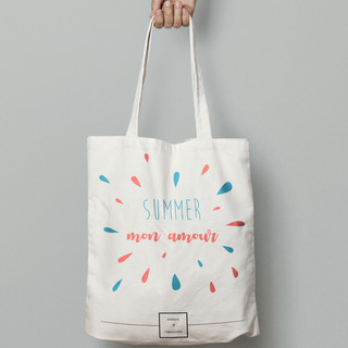 ILLUSTRATION TOTE BAG SUMMER 2018