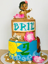 Moana Baby Cake