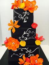 Spanish Tiger Lillies Cake