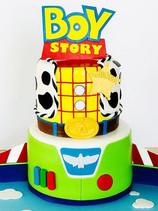 Boy Story Toy Story Cake