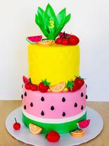 Fun Fruit Cake