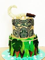 Moana Maui Cake