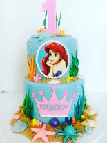 Ariel Little Mermaid Cake