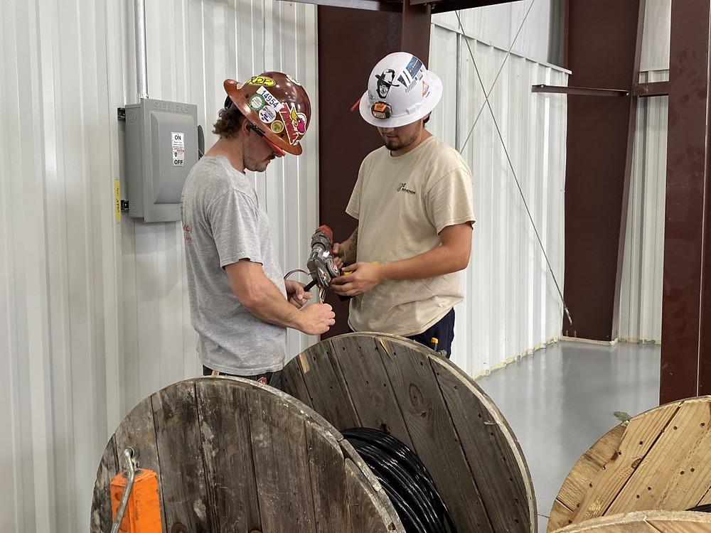 Wire pull preparation