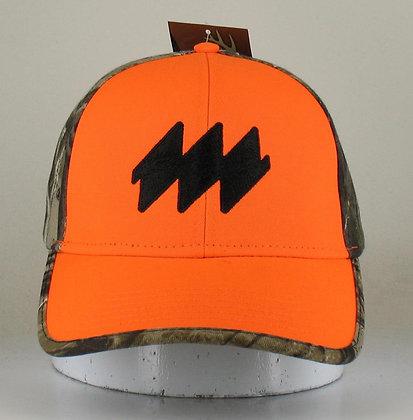 i2068- Camo/Orange Cap