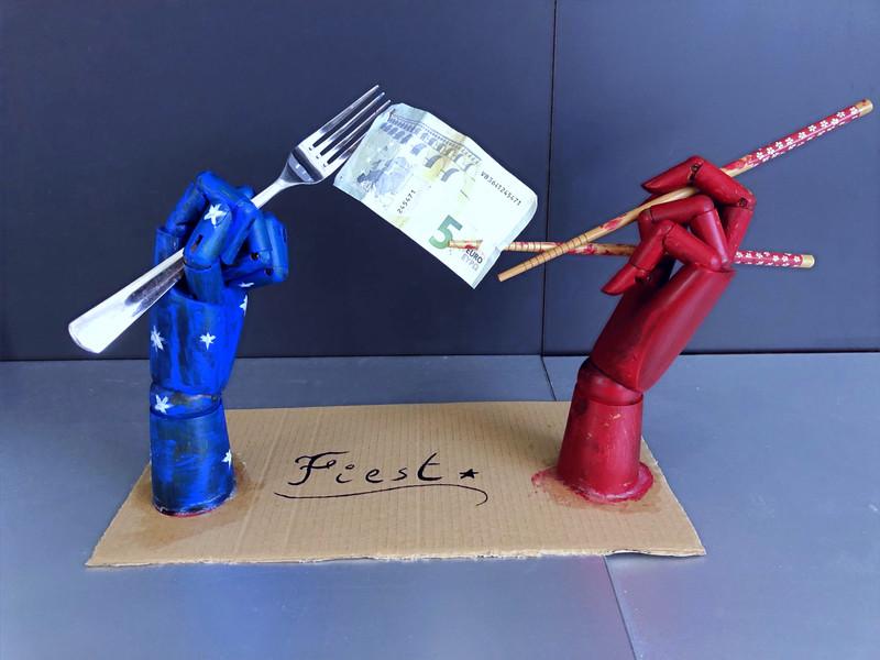 """""""Fiesta"""" - Sculpture by LH"""