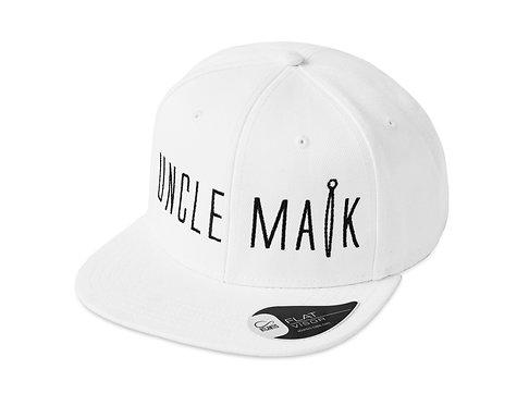 Uncle MaikWhite Snapback